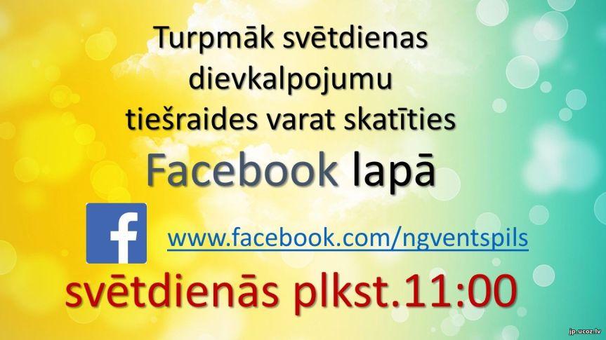 Tiešraides Facebook
